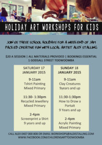 TAS HOLIDAY WORKSHOP 2015