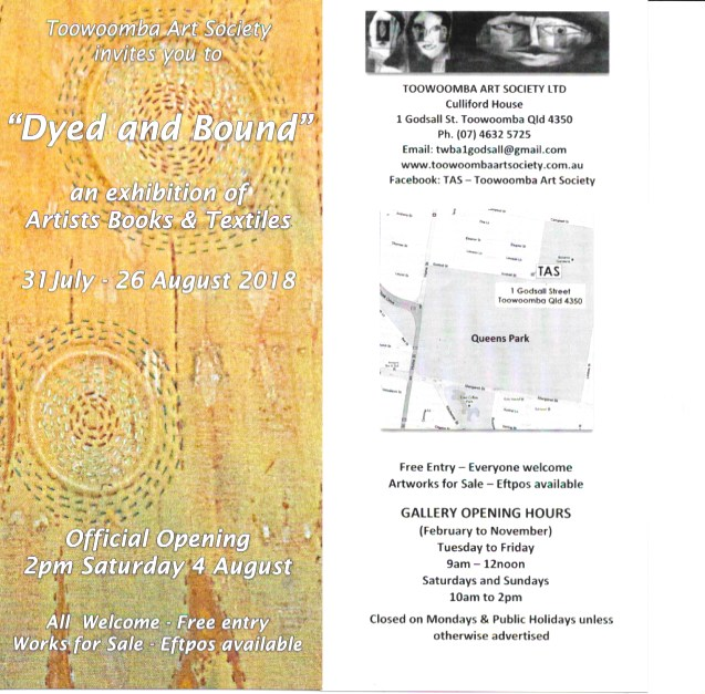 dyed invite